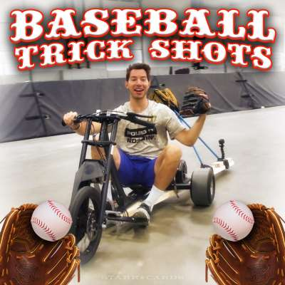 Dude Perfect presents 'Baseball Trick Shots'