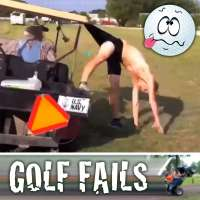 Golf Fails: The links get loopy with missed swings, errant hits, runaway carts