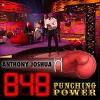 Heavyweight champ Anthony Joshua scores 848 on arcade boxing machine on 'The Graham Norton Show'