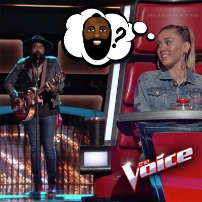 James Harden lookalike Nathan Graham performs on 'The Voice'