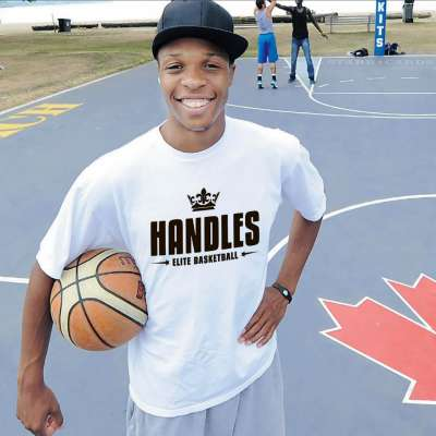 "Joey Haywood is better known as ""King Handles"" to Canadian streetballers"