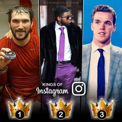 Kings of Instagram: Alex Ovechkin, P.K. Subban, Connor McDavid have most followers among NHL stars