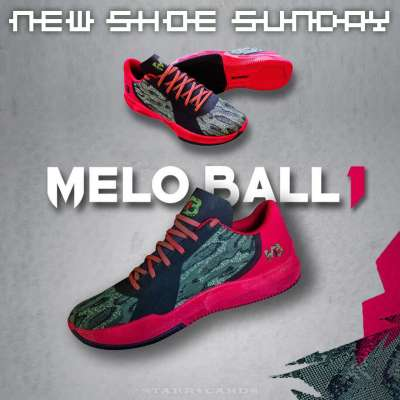 LaMelo Ball's first signature shoe: Melo Ball 1