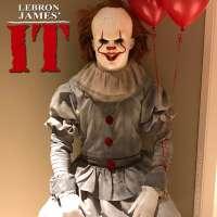 LeBron James' It wins best costume for Halloween 2017