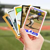 Make your own baseball card with Starr Cards.