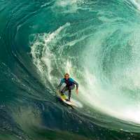 Mark Matthews riding a wave at 1000 frames per second
