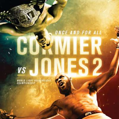 Poster for UFC 214 Cormier vs Jones 2