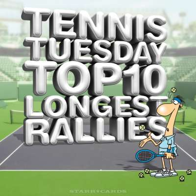 Tennis Tuesday: Top 10 longest rallies with Frenchmen Gilles Simon and Gael Monfils