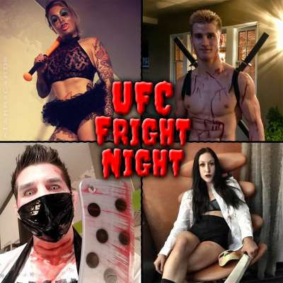 UFC Fright Night with Rowdy Bec Rawlings, Sage Northcutt, Patrick Cote and Jessica Penne