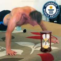 52-year-old Carlton Williams set Guinness world record for push ups in an hour