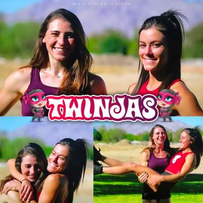 'American Ninja Warrior' Twinjas: Gymnasts Kacy Catanzaro and Barclay Stockett