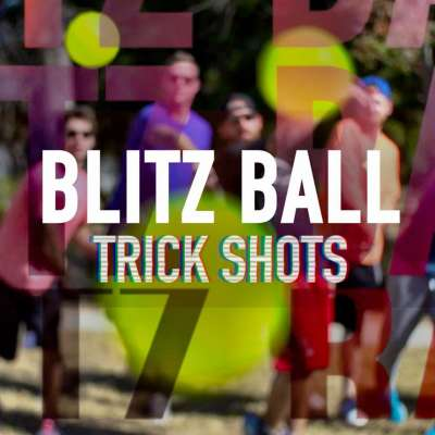 Blitzball trick shots with Dude Perfect