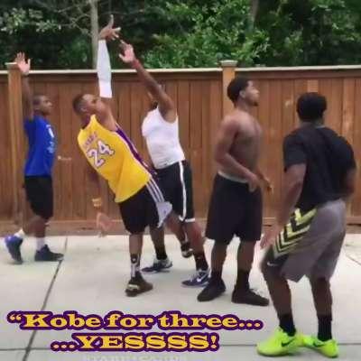 Brandon Armstrong @BdotAdot5 impersonates Kobe Bryant in Twitter video