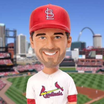 Cardinals bobblehead of John Hamm