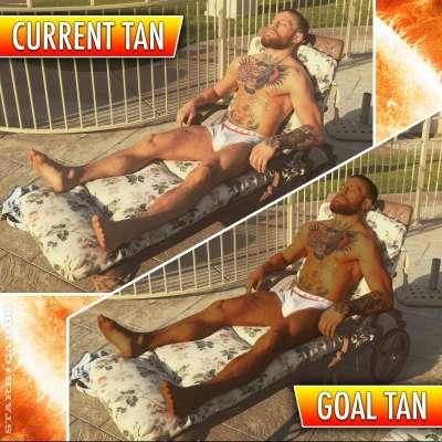 Conor McGregor working on darker tan than Cristiano Ronaldo's