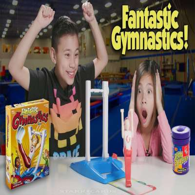 Fantastic Gymnastics featured on EvanTubeHD (with a side of Bean Boozled)