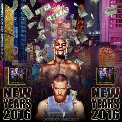 Floyd Mayweather vs Conor McGregor: New Year's 2016 Bash