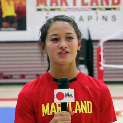 Hana Machover and Maryland cheerleaders flip out with GoPro