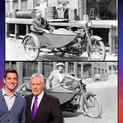In Aaron Rodgers' mind we ride Ernst & Young motorcycles, not Harley Davidson