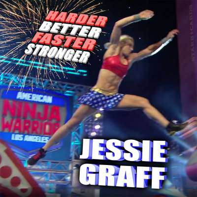 Jessie Graff at 'American Ninja Warrior' LA Qualifiers