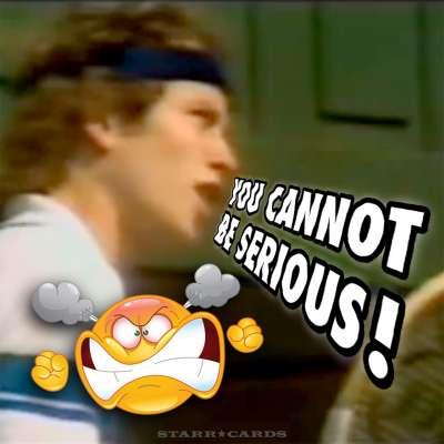"John McEnroe's ""You Cannot Be Serious"" rant"