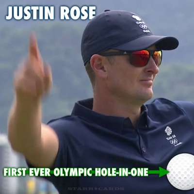 Justin Rose hits first ever hole-in-one of Olympic Games