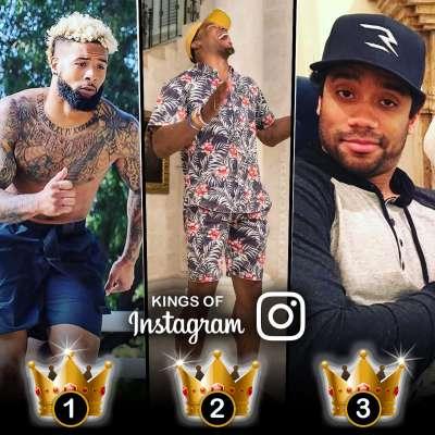 Kings of Instagram: Odell Beckham Jr, Cam Newton, Russell Wilson have most followers among NFL stars