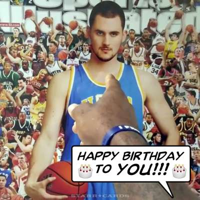 "LeBron James sings ""Happy Birthday"" to Kevin Love"