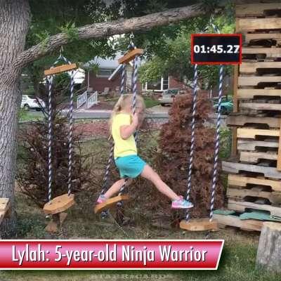 Lylah MacCall: 5-year-old American Ninja Warrior