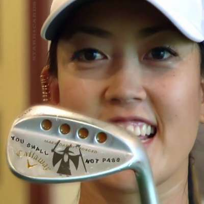 Michelle Wie shows off her 'Lord of the Rings' themed golf club from Callaway