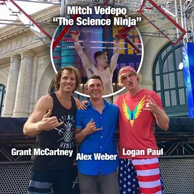 "Mitch Vedepo ""The Science Ninja"" scores high marks on ANW after Grant McCartney, Logan Paul test course"