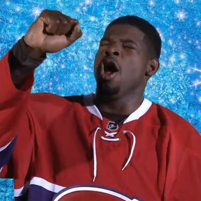 """P.K. Subban and the Habs sing """"Let it Go"""" from Disney's 'Frozen'"""