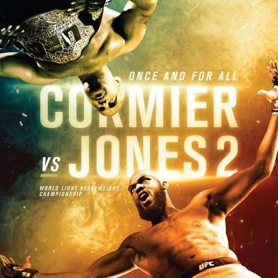Poster for UFC 214 Cormier vs Jones 2