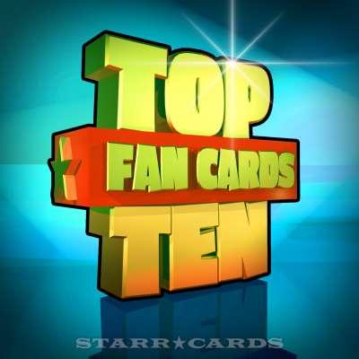 Starr Cards Top Ten Fan Cards 09