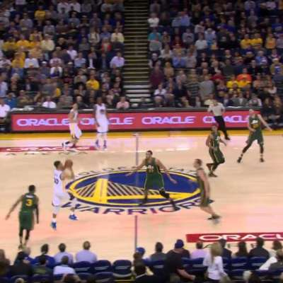 Steph Curry hits buzzer beater versus Utah Jazz