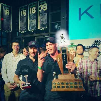 Stephane Veilleux wins Dominic Moore's Smashfest tournament