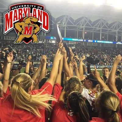 Taylor Cummings, Megan Whittle power Maryland Terrapins women's lacrosse team