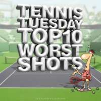 Tennis Tuesday: Top 10 Worst Shots (with Raphael Nadal, Roger Federer, Novak Djokovic) presented by Starr Cards
