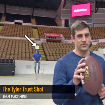 Tyler Toney trusts Aaron Rodgers aim with the football