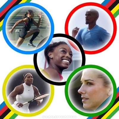 Unlimited drive: Allyson Felix, Simon Biles, Mo Farah, Serena Williams, and Alex Morgan ready for Rio 2016
