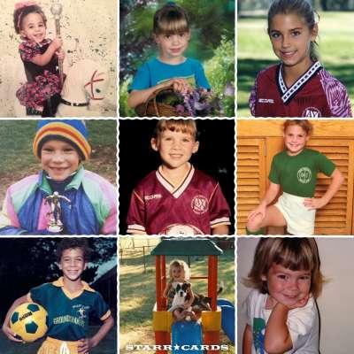 USWNT member childhood photos