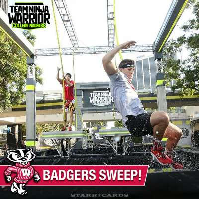 Wisconsin Badgers sweep the competition on 'Team Ninja Warrior: College Madness'