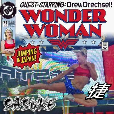 Wonder Woman in Japan: Ninja warrior Jessie Graff takes on Sasuke